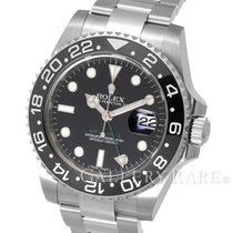 Rolex GMT Master II Ceramic Bezel Stainless Steel 40MM