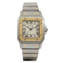 Cartier Santos Galbee Gold/Steel 187901