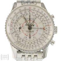 Breitling Uhr Navitimer Montbrillant Datora Edelstahl A21330