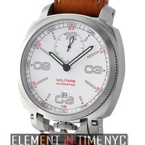 Anonimo Militare Automatico Stainless Steel 43mm White Dial...