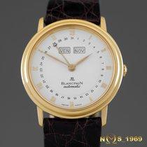 Blancpain Villeret  Triple  Calendar  18K Gold Automatic  34mm