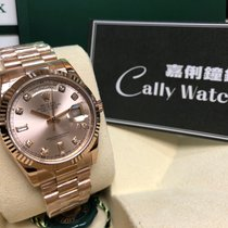 Rolex Cally - Day-date President 118235A Pink Diamond 粉紅鑽石面