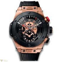 Hublot Big Bang Unico Chronograph 18k Rose Gold Ceramic Rubber...