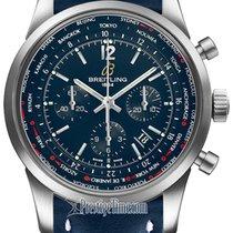 Breitling Transocean Chronograph Unitime Pilot ab0510u9/c879-3ld