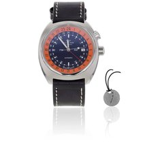 Glycine Airman SST 12 GMT pumpkin