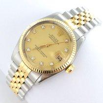 Rolex Datejust Medium 31mm Diamanten Brillanten Stahl/gold...
