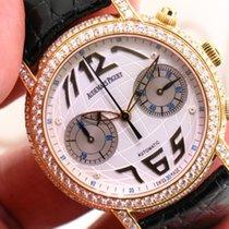 Audemars Piguet JULES 18KT YELLOW GOLD FACTORY DIAMOND GLOBE...
