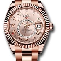 Rolex 326935 Sky-Dweller Everose Gold Like NEW