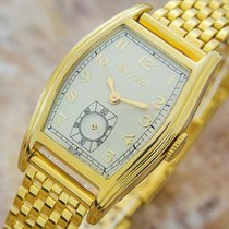 Bulova Rare Beautiful Mid Size Manual Gold Filled Swiss Dress...