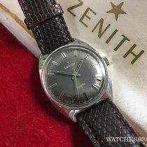 Zenith Reloj suizo antiguo de cuerda Zenith Sporto + ESTUCHE