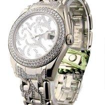 Rolex Unworn 81339-0027 Masterpiece Mid Size White Gold with...