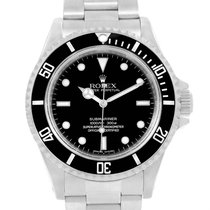 Rolex Submariner No Date 4 Liner 40mm Stainless Steel Mens...