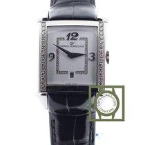 Girard Perregaux Vintage 1945 Crocodile Strap Diamond Bezel NEW