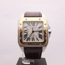 Cartier Santos 100 18KT Stainless Steel Automatic XL Ref.W20072X7