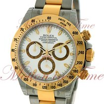 Rolex Cosmograph Daytona, White Dial - Stainless Steel &...
