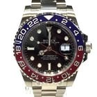 Rolex GMT MASTER II  White Gold NEW MODEL Pepsi Blue Red Ceramic