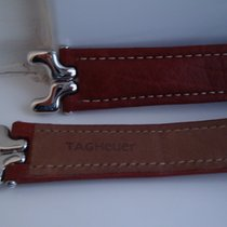 TAG Heuer 19mm/20mm SEL S/el BROWN Deployant Leather Strap+Lin...