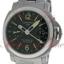 Panerai Luminor GMT Automatic Acciaio, Black Dial - Stainless...