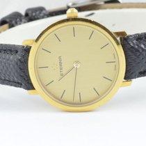 Eterna Damen Uhr Quartz 18k 750 Gold Top Zustand