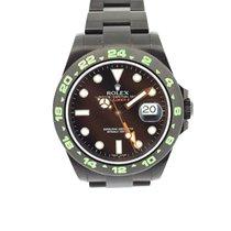 롤렉스 (Rolex) Explorer II black dial 42mm Black Out PVD