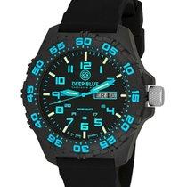 Deep Blue Daynight Diver Tritium Watch Swiss Movt. 200m Wr...