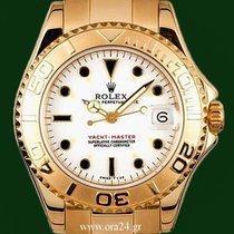 Ρολεξ (Rolex) Yachtmaster Medium 18k Gold 68628 Box&Papers