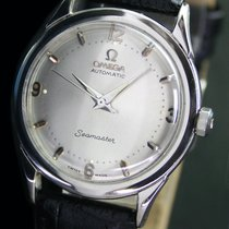 Omega Seamaster Half Rotor Bumper Automatic Steel Mens Watch