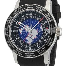 Fortis B-47 World Timer GMT Automatik 674.21.11 L.01