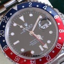 롤렉스 (Rolex) GMT II ST REF 16710 PEPSI +Box & Papiere+ Perfekt