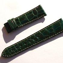 Zenith Croco Band Armband Grün Green 20 Mm Für Dornschliesse...