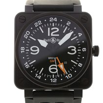 Bell & Ross Aviation 46 GMT Black Dial