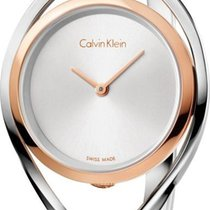 ck Calvin Klein LIGHT K6L2SB16 Damenarmbanduhr Swiss Made