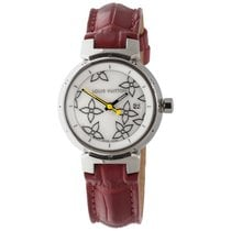 Louis Vuitton Tambour Disc Mother of Pearl Watch