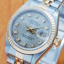 롤렉스 (Rolex) Rolex 18K Gold & S/S Diamonds DateJust...