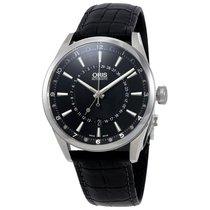 Oris Artix Pointer Moon Black Dial Men's Watch 761-7691-40...
