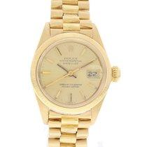 Rolex Vintage Rolex Datejust 18k YG 6927