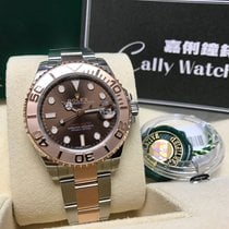 Rolex Cally - LADY 37MM YACHT MASTER 268621 BROWN 2017[NEW]