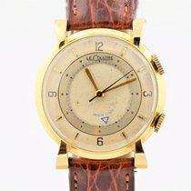 Jaeger-LeCoultre Vintage 1950s Wrist Alarm Memovox 10k Gold...