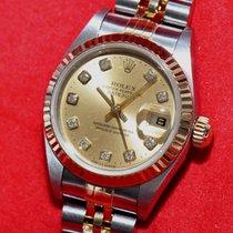 Rolex Datejust Ref. 69173 Stahl Gold Papiere 2001