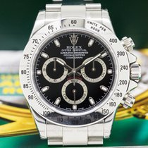 Rolex 116520 Daytona Black Dial SS NEW OLD STOCK / FULL SET...
