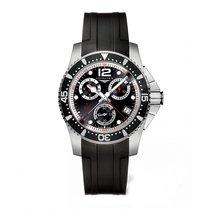 Longines HydroConquest Quartz Chronograph 41mm Mens Watch...