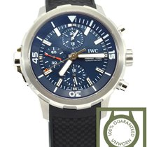 IWC Aquatimer Chrono Expedition Jacques Cousteau blue dial NEW