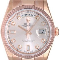 Rolex Men's Rolex Rose Gold President Day-Date Watch 118235