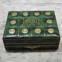 Longines rare green vintage watch box very nice