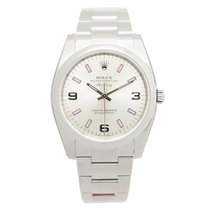 Rolex Oyster Perpetual 114200 Silver 369 Pink