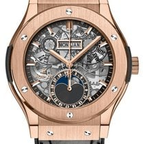 Hublot Classic Fusion 42mm Moonphase King Gold Automatic Watch