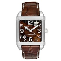 JeanRichard Men's Paramount Linear Power Reserve Watch