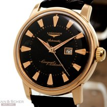 Longines Vintage Conquest Calender Ref-9005 18k Rose Gold Bj-1964