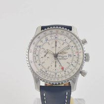 Breitling Navitimer World Chronograph with Five Straps