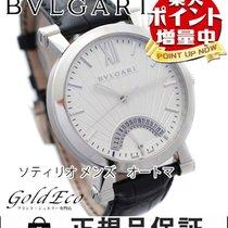Bulgari 【超美品】【ブルガリ】 ソティリオブルガリ メンズ腕時計【中古】 SB42SDR SS/レザーベルト...